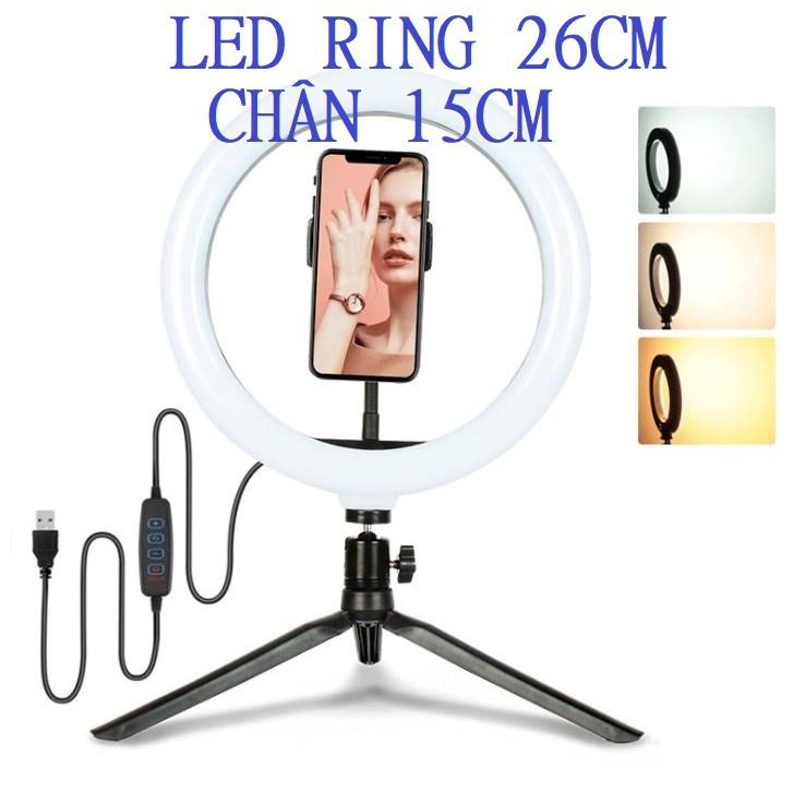 4. Đèn Led Ring 26cm