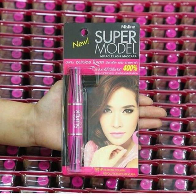 Mascara Mistine Super Model