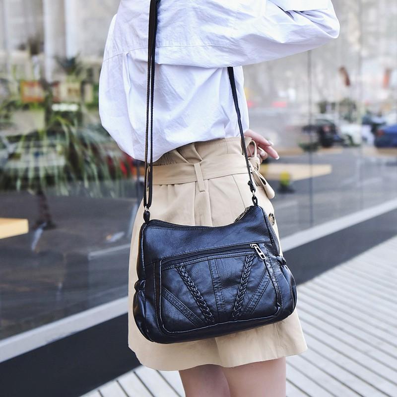 Túi da dê mềm chất đẹp size đại QN27