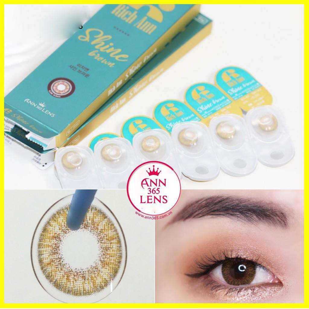 [Siêu ưu Đãi] Lens cận 5 độ - 5.5 độ - 6.0 độ, kính áp tròng cận thị 5 độ,...