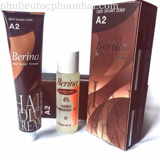 Thuốc nhuôm màu nâu đen phủ bac Berina A2(hang công ty có tem)