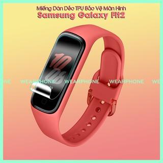 Miếng Dán Màn Hình Ppf Kính Cường Lực Dẻo Samsung Galaxy Fit 2 Fit2 wearphone W20201220