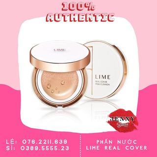PHẤN NƯỚC LIME REAL COVER PINK CUSHION SPF 50+ PA+++ thumbnail