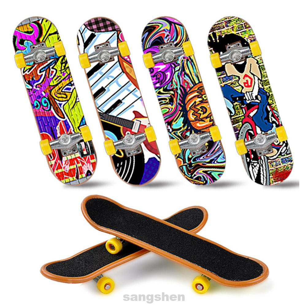 Home Professional Beginner Kids Gift Entertainment Parent-child Hand-eye Coordination Desktop Toys Finger Skateboard