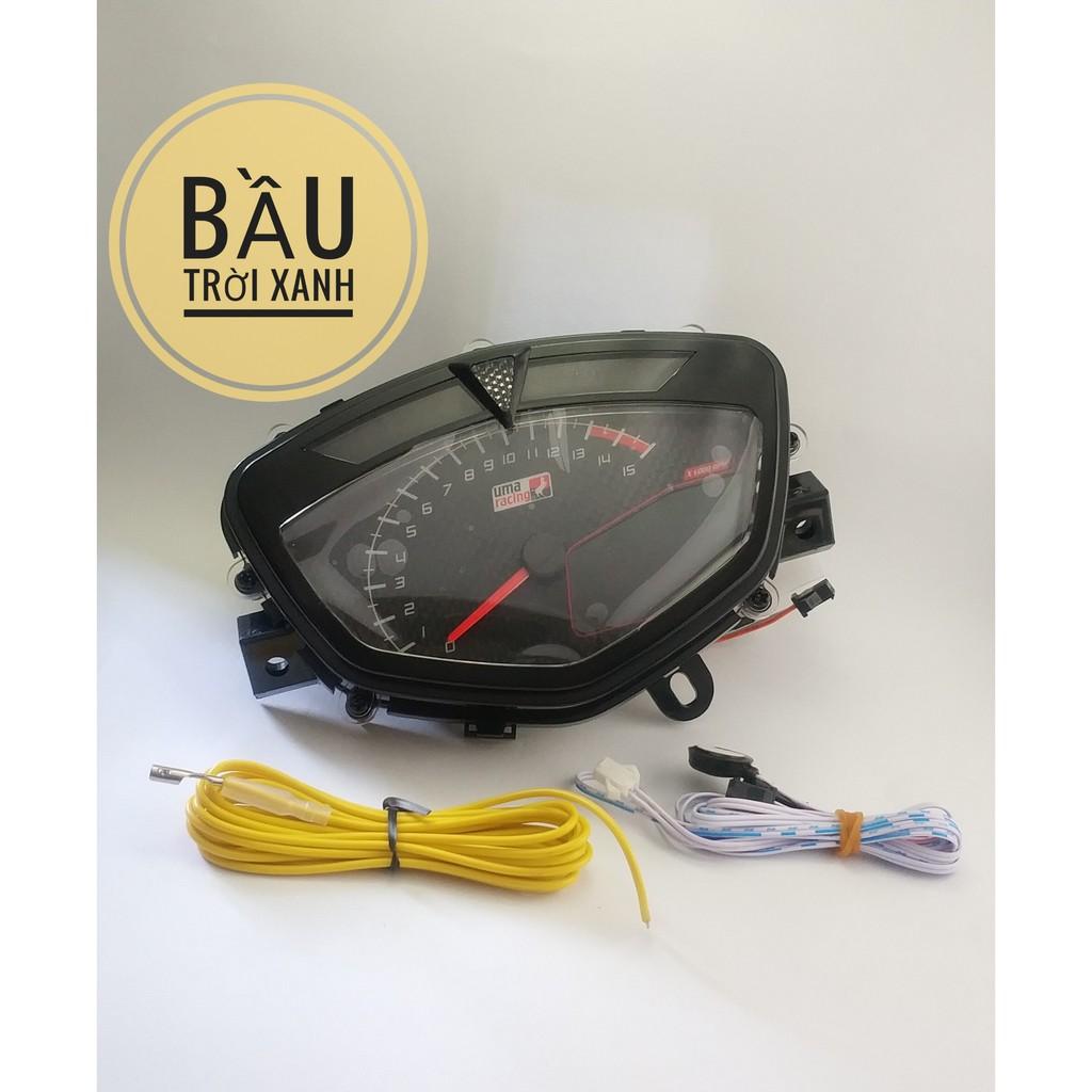 Đồng hồ điện tử Uma Racing cho sirius và ex 2010