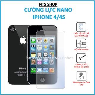 Dán cường lực dẻo bảo vệ màn hình APPLE IPHONE 4 4S thumbnail