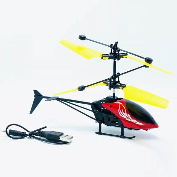 Máy bay điều khiển từ xa cảm ứng bằng tay1 dành cho bé siêu bền