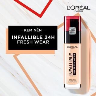 Kem Nền Lâu Trôi L Oreal Infallible 24h Fresh Wear 30ml thumbnail