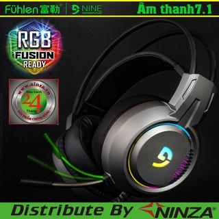 Tai nghe Gaming Fuhlen H300 [Bảo hành 24 tháng] ♥️Freeship♥️ Tai nghe chụp tai chơi game giá rẻ Fuhlen H200 game thủ