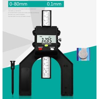 Thước đo độ dày - độ sâu điện tử 0-80mm