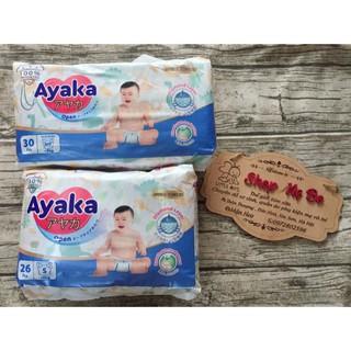 (ĐỦ SIZE) Tã dán Ayaka Nutifood NB30 S26 M24 thumbnail