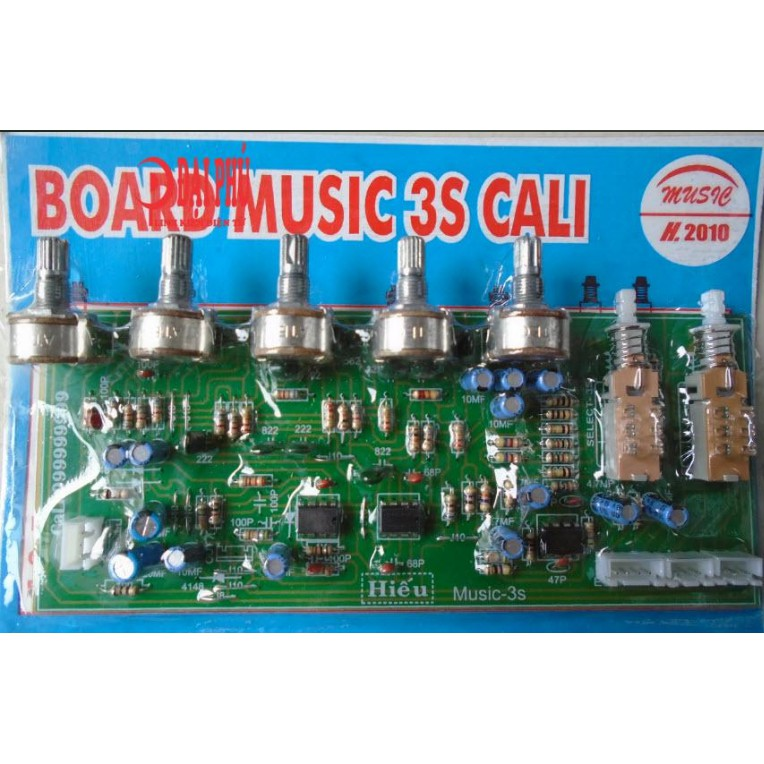 Board music 3S Cali