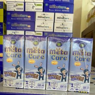 Thùng sữa nước pha sẵn METACARE Eco 180ml 48 hộp thumbnail