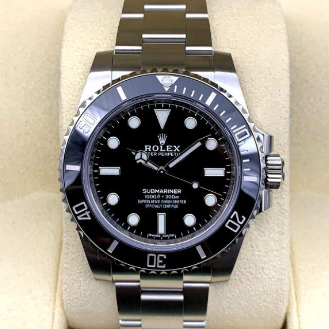 New Rolex Submariner Nodate Ceramic Ref.114060
