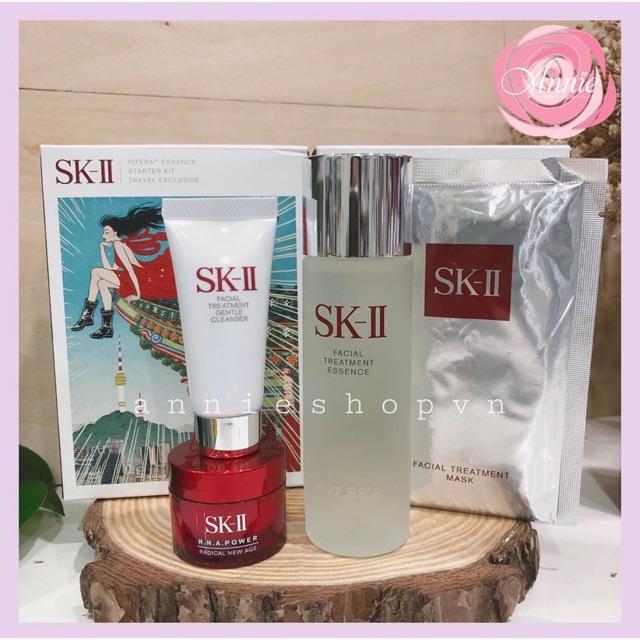 Set dưỡng da chống lão hoá SKII Starter Kit Travel