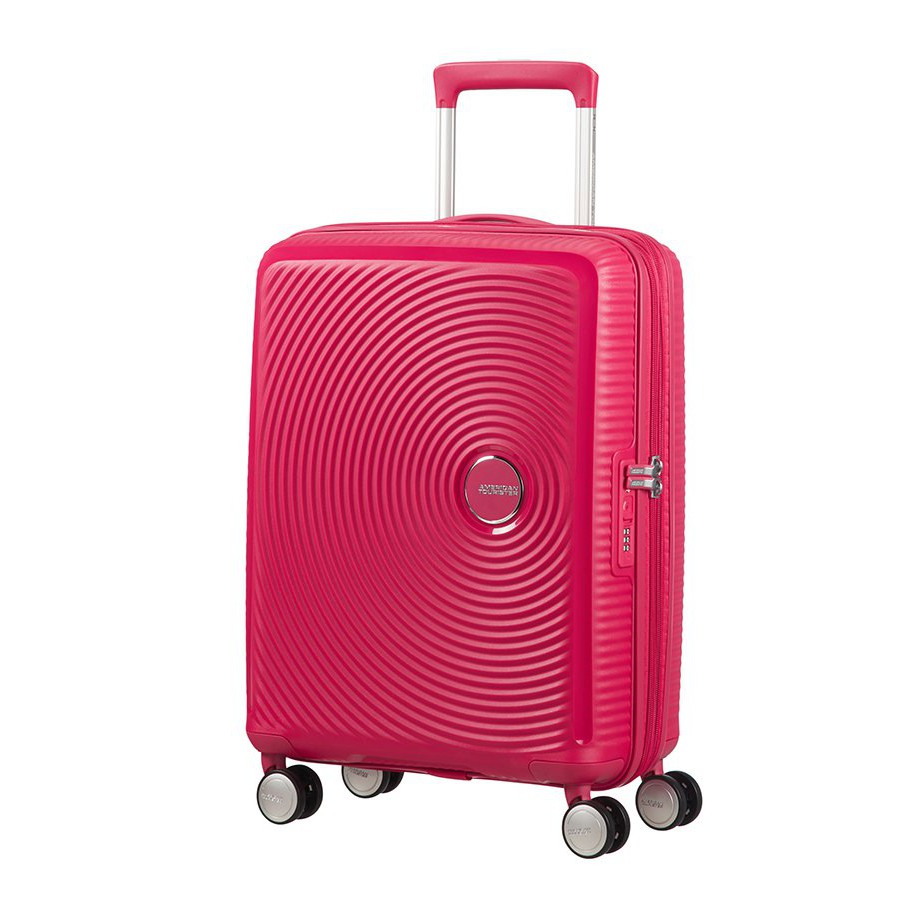 Vali American Tourister AO8*90001 AT CURIO SPINNER 55/20 TSA - PINK