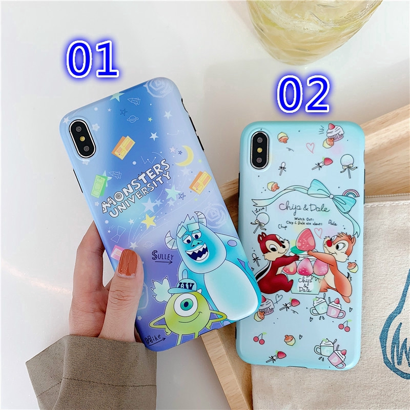 For iPhone 6 7 8 Plus X XR XS Max Monster Phone Case