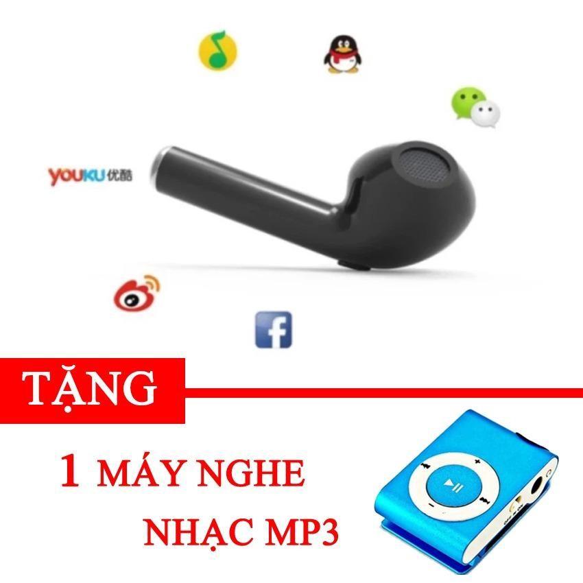 Tai nghe Bluetooth HBQ i7 Tặng máy nghe nhạc MP3 mini -gift1 dc2374