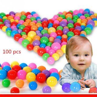 100 quả bóng 5cm đủ màu sắc hàng Việt nam cho bé