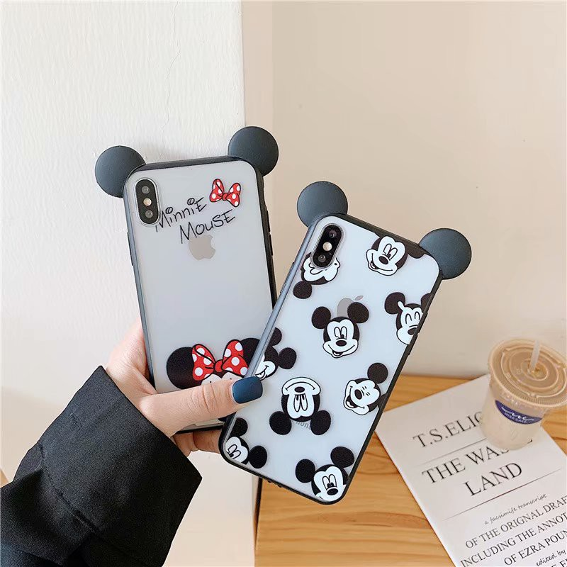 Vỏ điện thoại di động Soft Case For OPPO R9/F1+/R9+/R9s/R9s+/F3+ 3D Cartoon Transparent TPU Cover