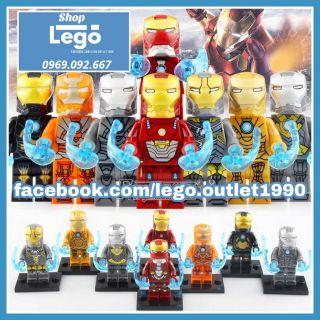 Xếp hình Iron Man tuyển tập siêu rẻ siêu hot Lego Minifigures Xinh X0254 thumbnail