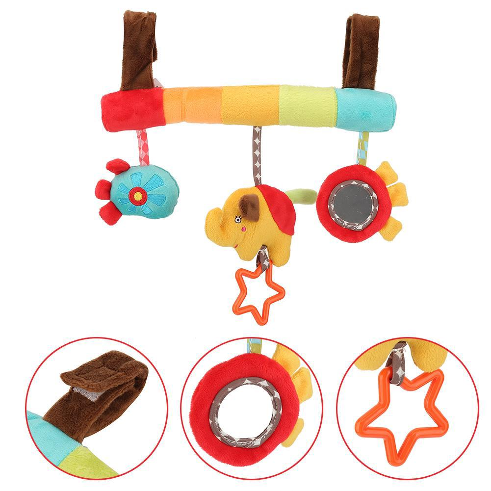 Hand Fitness Shake Toy Toy Educational Rattles Grasping Baby Hand Bell Bell for