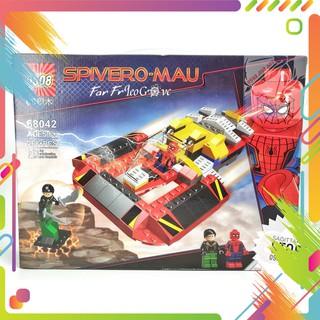 Lego QS08-68042 Lắp Ráp Phi Thuyền Spiderman ( 268 Mảnh )- Hàng có sẵn