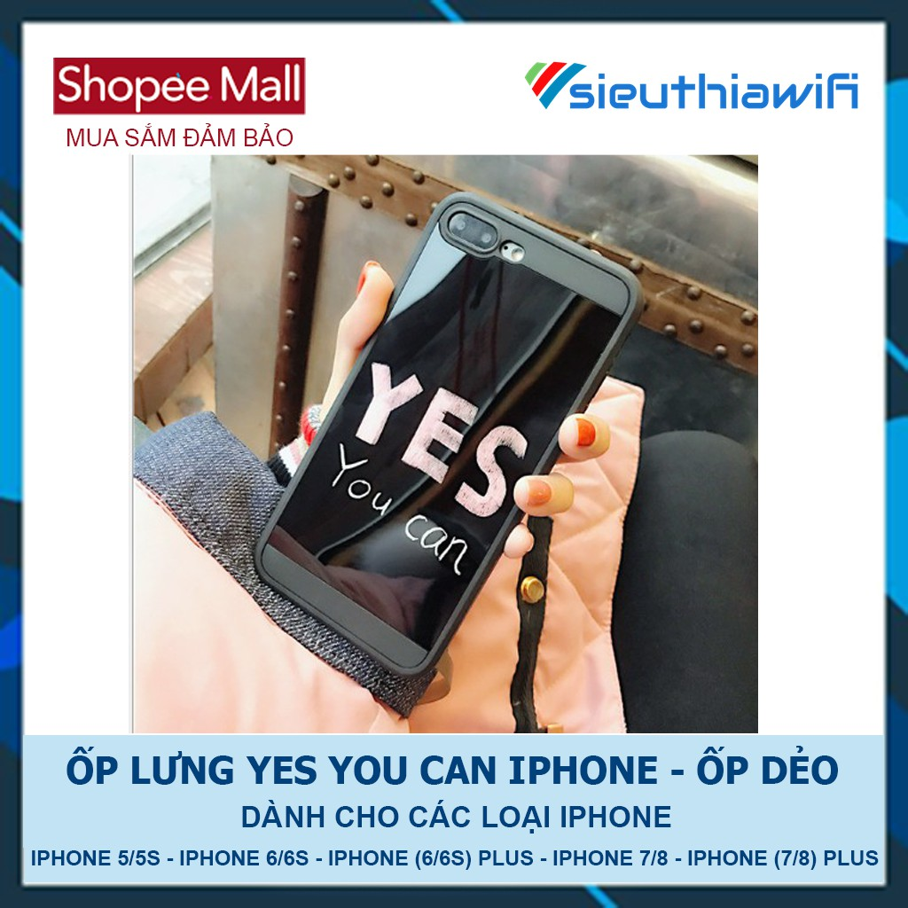 ỐP YES YOU CAN - ỐP DẺO - 2683505 , 1232515658 , 322_1232515658 , 50000 , OP-YES-YOU-CAN-OP-DEO-322_1232515658 , shopee.vn , ỐP YES YOU CAN - ỐP DẺO