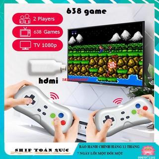 Máy chơi game 638 - 620 trò không dây tiện lợi kết nối cổng hdmi - máy phiên bản 2020 - Bộ máy chơi game senvangshop thumbnail