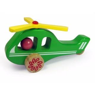Đồ chơi gỗ Winwintoys - Máy bay trực thăng 68272