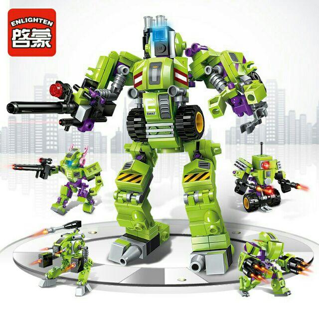 ( Rẻ vô địch) Lego 8 trong 1 Enlighten – mô hình robot