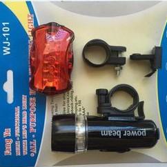 Đèn LED Gắn Xe Đạp ( ko có đèn dán sau xe)