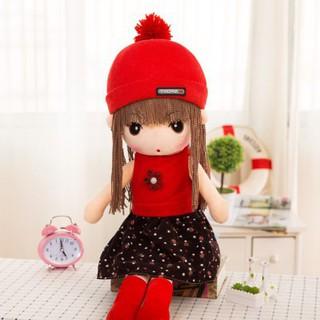 Búp bê vải 60cm đỏ-dochoi