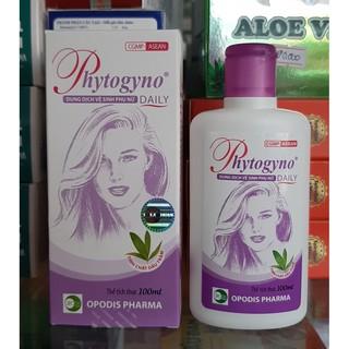 dung dịch vệ sinh phụ nữ phytogyno daily màu tím thumbnail