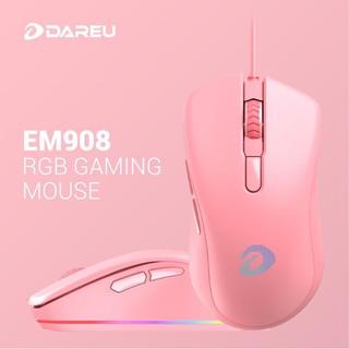 Chuột Gaming DAREU EM908 QUEEN (LED RGB, BRAVO sensor)