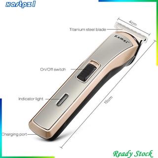 [Ready Stock]Pro Electric Cordless Hair Clipper Razor Beard Removal Machine Barber Shaver