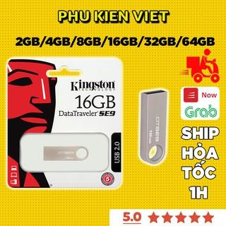 USB Kingston 2GB/4GB/8GB/16GB/32GB/64GB - Vỏ Kim Loại - Chống Nước - Bảo Hành 12 Tháng Đổi Mới - Phụ Kiện Việt