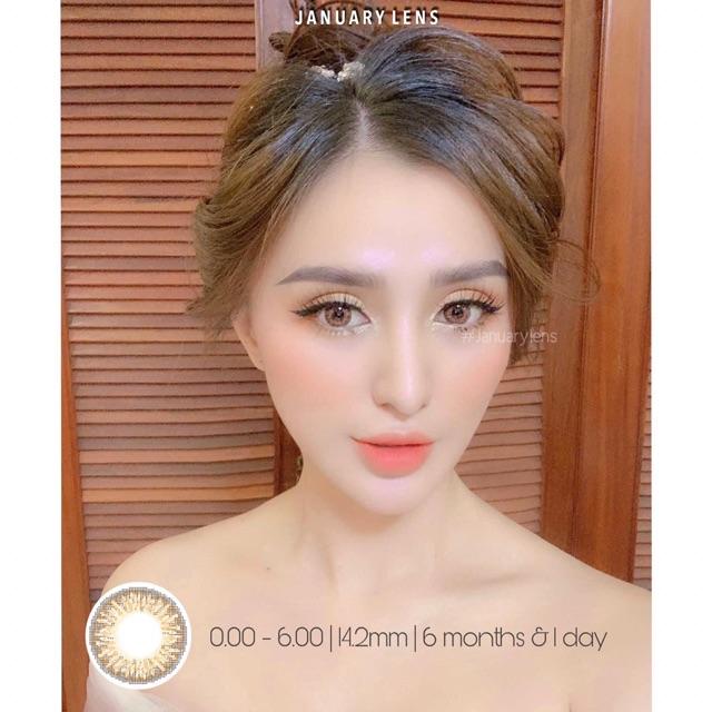Lens BNA brown ( có độ cận)