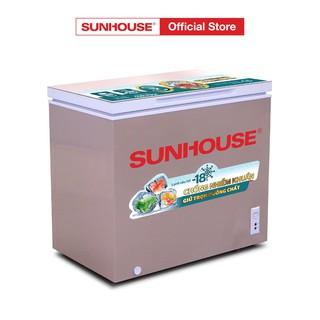 [Mã ELMALL83 giảm 6% đơn 1TR] Tủ đông 1 ngăn 1 cánh SUNHOUSE SHR-F1233W1 thumbnail