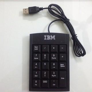 Bàn Phím Số IBM – Bàn Phím Rời IBM Cho Kế Toán, Thủ Quỹ