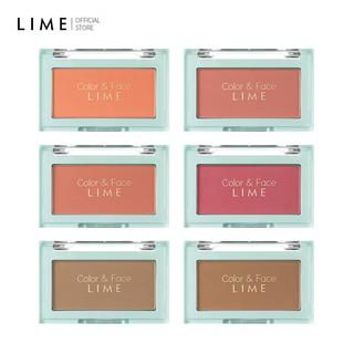Phấn Má Hồng Đa Năng Lime Color & Face Single Blusher 4.5g thumbnail