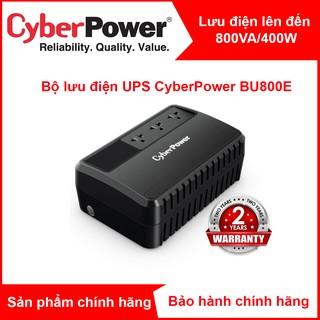 Bộ lưu điện UPS CyberPower BU800 BU800E - 800VA 480W - Chính hãng new 100%(đã có ắc quy) thumbnail