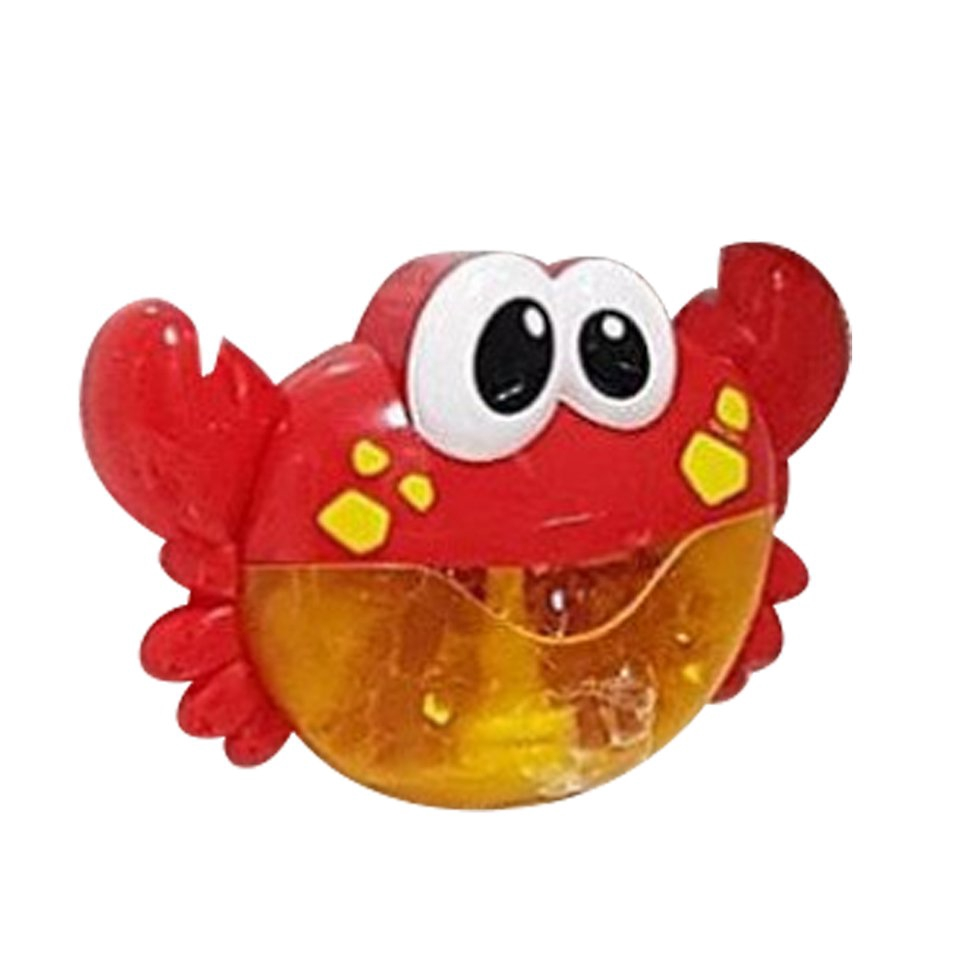 Bubble Crabs Baby Bath Toy Bath Bubble Maker Pool Swimming Bathtub Soap Toys