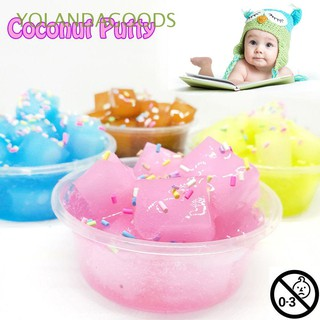 🍊DIY Colorful Scented Sludge Fluffy Floam Squishies Crystal Slime