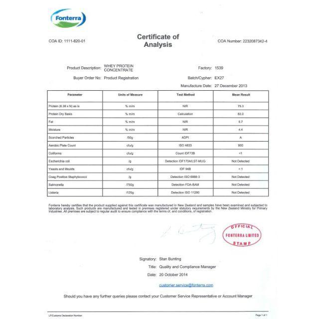 1Kg Whey Protein Concentrate Đạm Whey Cô Đặc 80% NZMP Sữa tăng cơ giảm mỡ Whey Protein, Whey Isolate, Hydroly