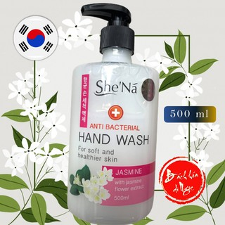 Nước rửa tay She nã hương Trà Lài (Jasmine) 500ml công thức Hàn Quốc dịu nhẹ với làn da mịn màng của bạn thumbnail