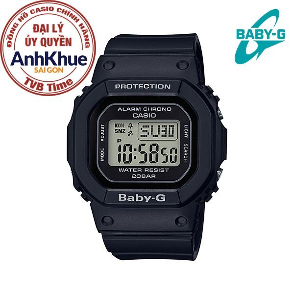 Đồng hồ nữ dây nhựa Casio Baby-G chính hãng Anh Khuê BGD-560-1DR