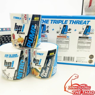BỘ QUÀ TẶNG BPI SPORTS THE TRIPLE THREAT