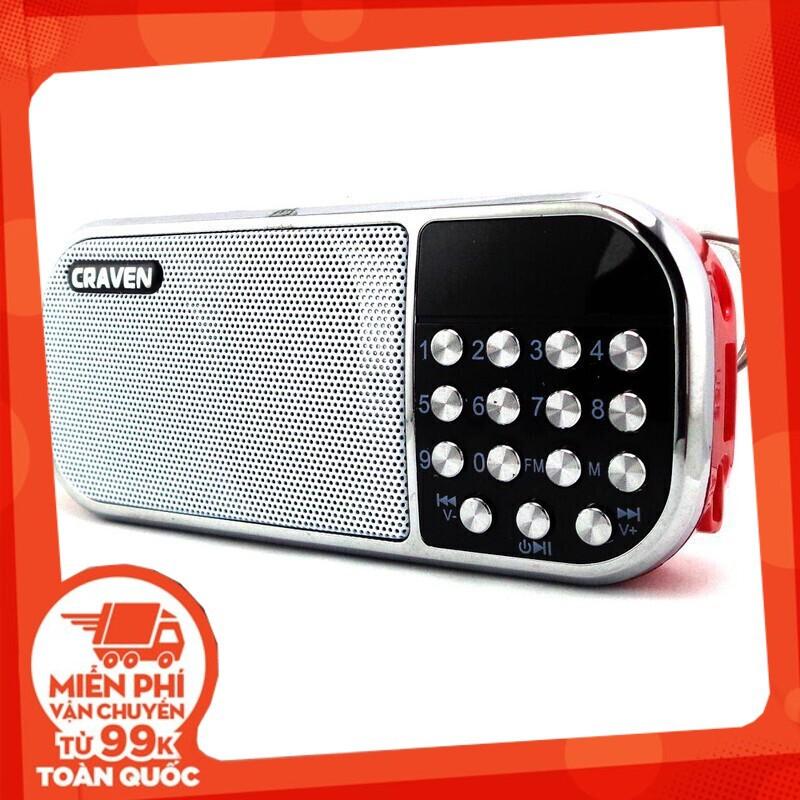 {SALE SẬP GIÁ} Bộ loa nghe nhạc USB Craven CR-22 (Đỏ) và Thẻ nhớ 8GB Giá chỉ 248.750₫