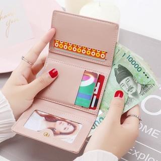Ví Nữ Cầm Tay Nhỏ Gọn Xinh Xắn Kiểu Dáng Đẹp Bóp Da PU Cao Cấp Thời Trang Hàng Hiệu Hàn Quốc Sang Trọng LỊCH THIỆP GC35 thumbnail